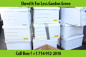 Shredding Services Garden Grove, CA
