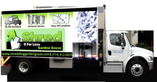 On Site Shredding Company - Shred It For Less Garden Grove